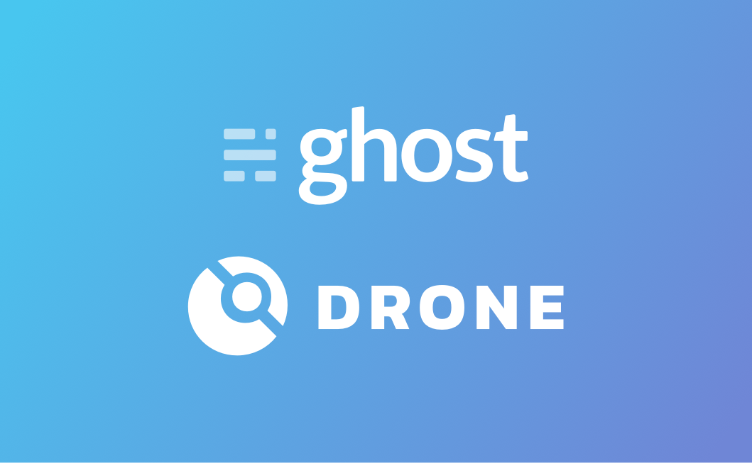 Ghost Theme Uploads Using Drone CI